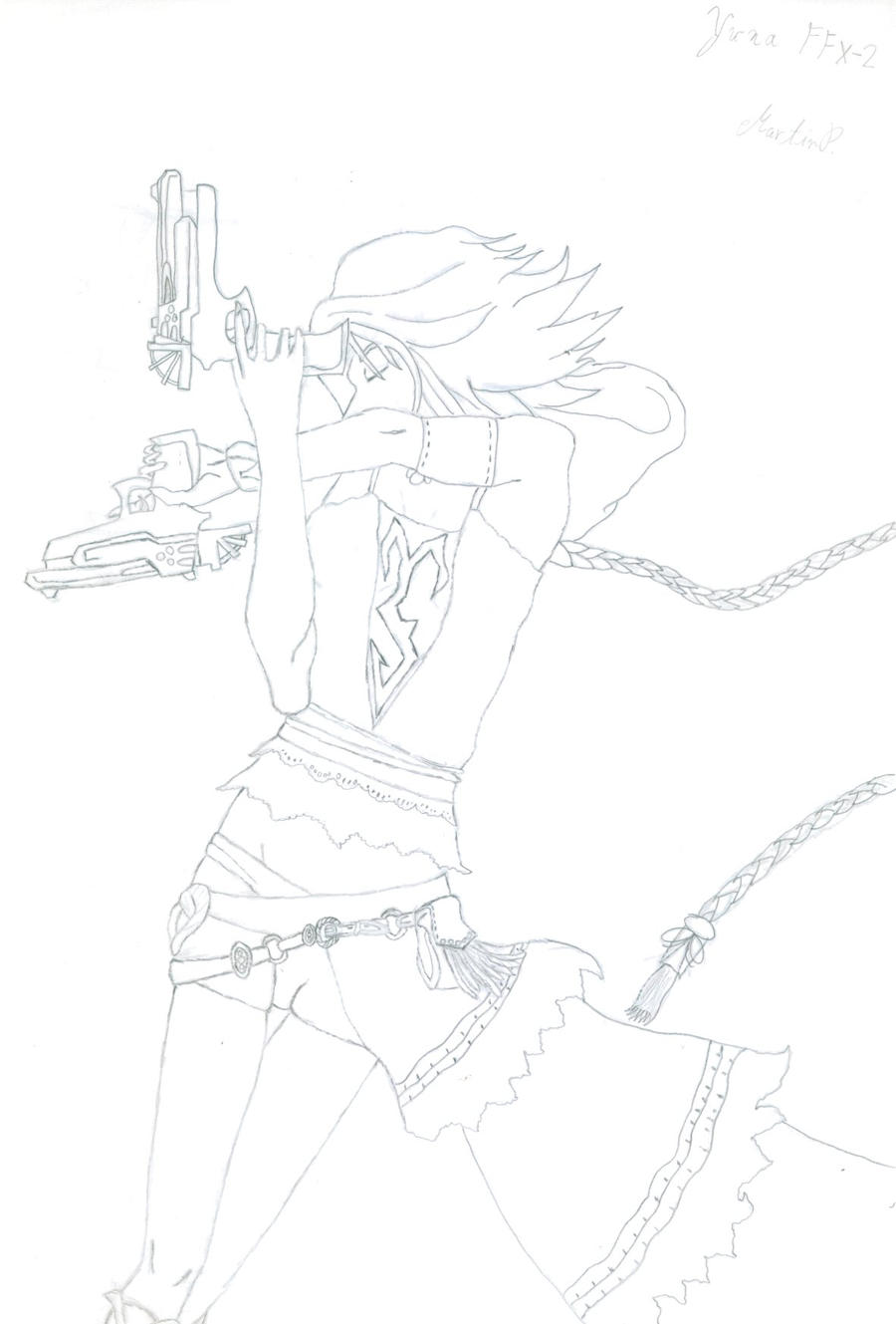 Yuna by martinx17