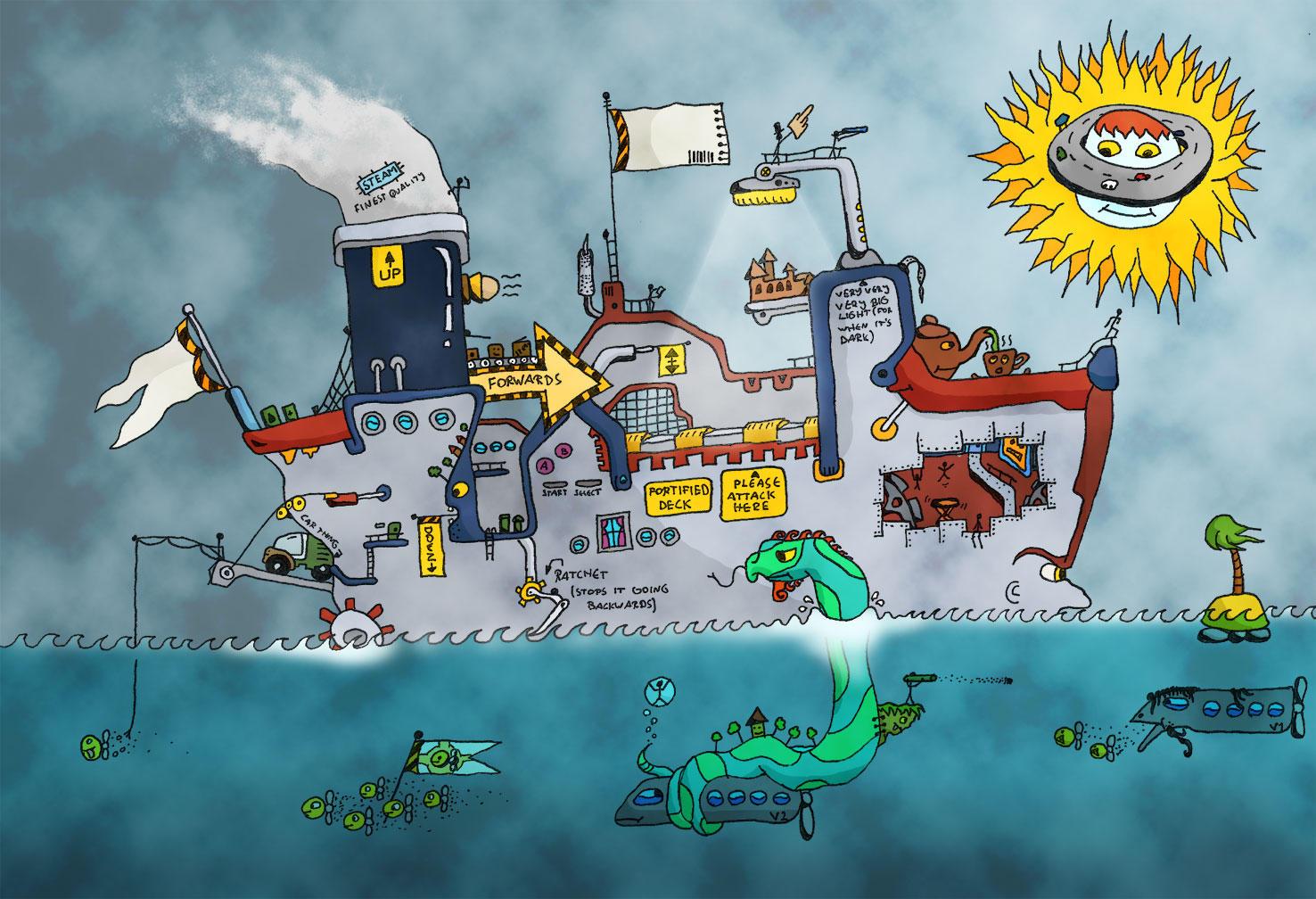 Flantastic Voyage by kakbarnf