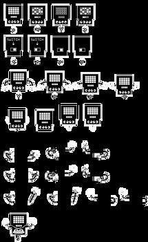 MeraTale Sprites(Overworld) - Mettaton
