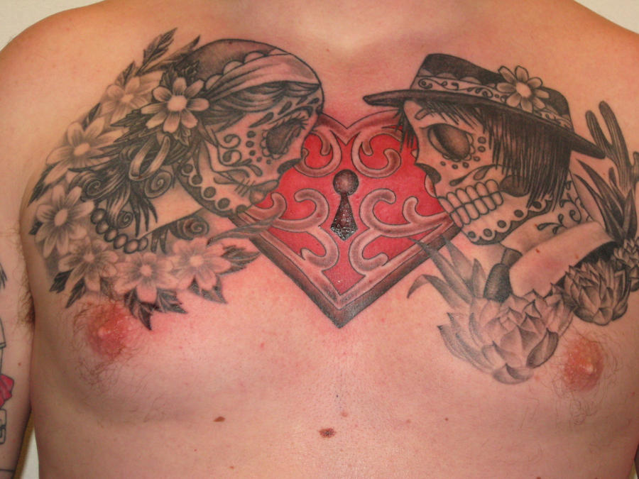 Simons Chest - chest tattoo