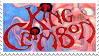 King Crimson stamp by Psilocube
