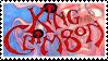 King Crimson stamp by Psilocube
