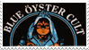 Blue Oyster Cult stamp by Psilocube