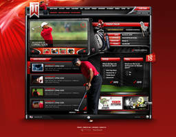 - Tiger Woods Concept 02 - by loveinjected