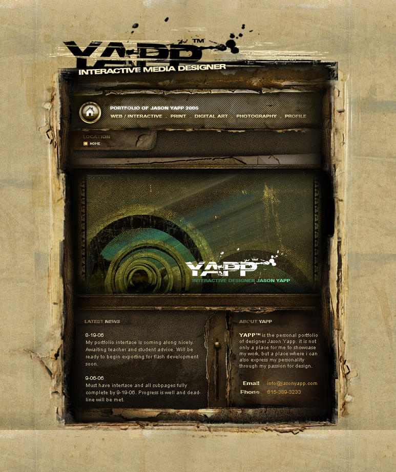 -YAPP Portfolio- by loveinjected