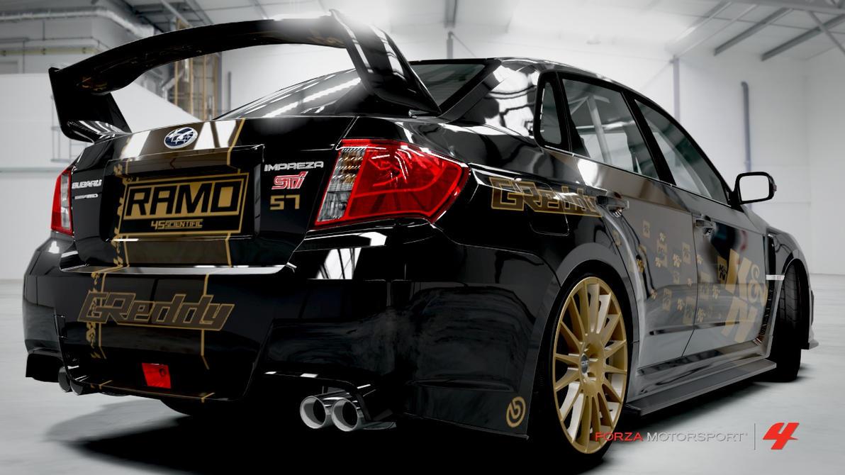 Subaru Impreza Wrx Sti 2011 Forza Motorsport 4 By Ramo