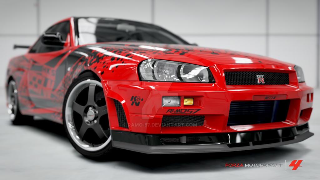Nissan Skyline GTR VSpec II  Forza Motorsport 4 by RAMO57 on