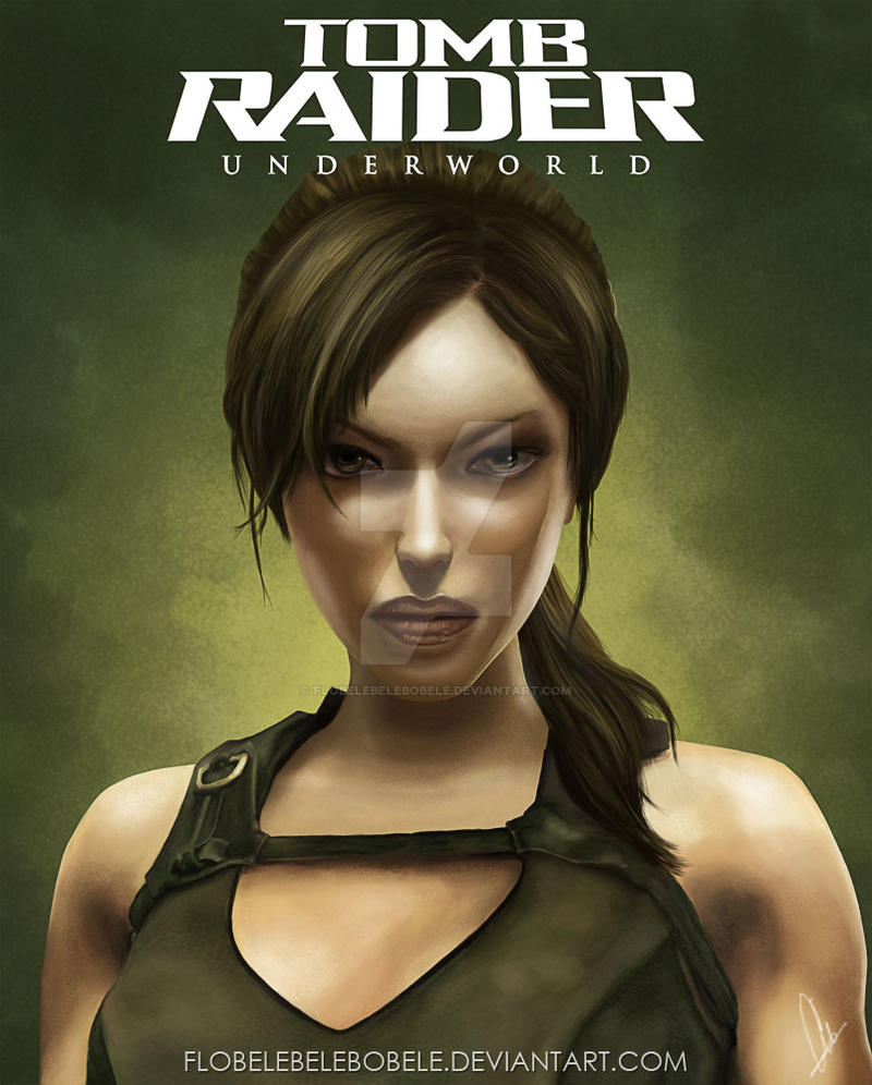 Tomb Raider Underworld Wallpaper: Lara Croft By Flobelebelebobele On DeviantArt