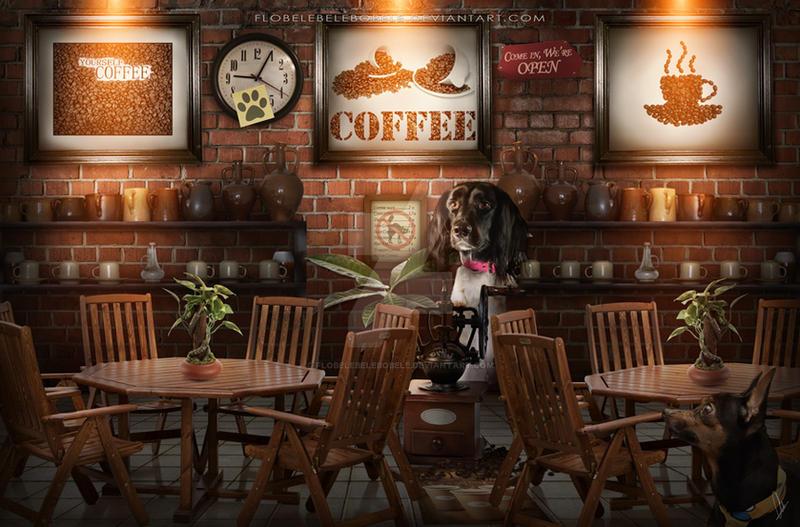 Coffee Shop by Flobelebelebobele