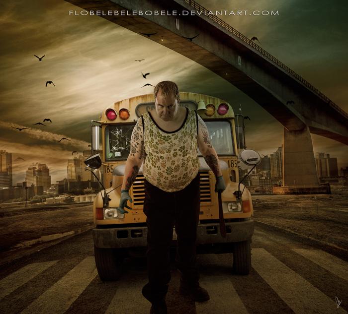 Bus Driver by Flobelebelebobele