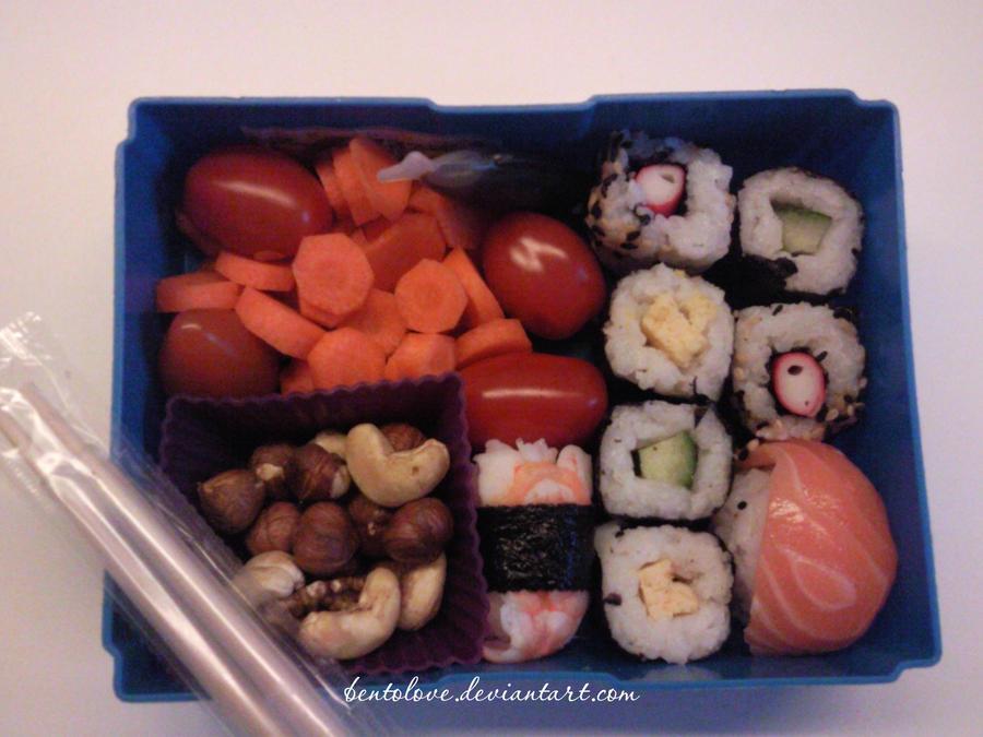 sushi bento by BentoLove