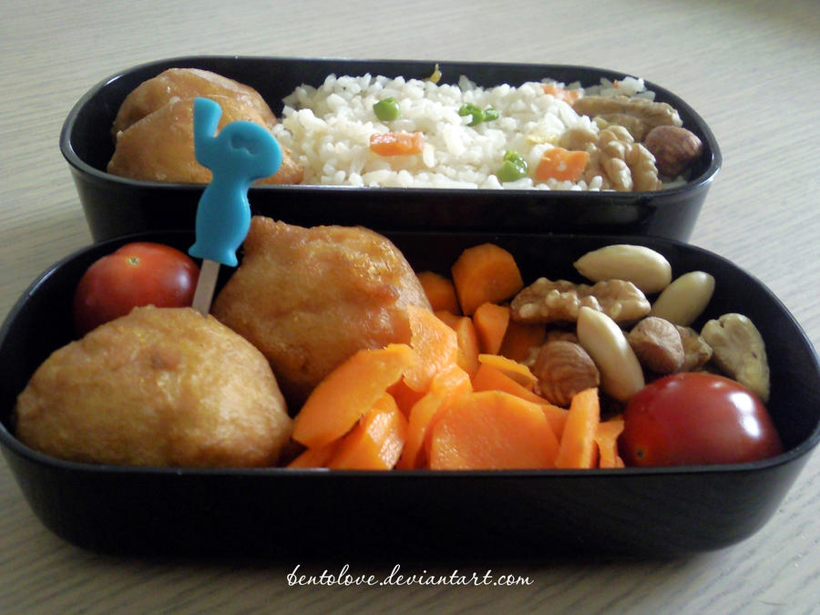 chinese leftover bento by BentoLove