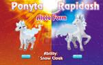 Ponyta and Rapidash Alola Forms