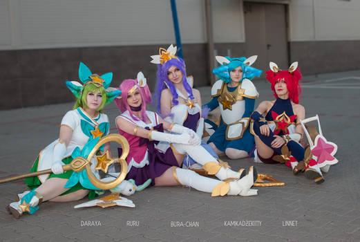 Full Star Guardian Team