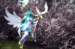 Star Guardian Soraka with flowers