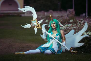 Star Guardian Soraka cosplay by DarayaArt