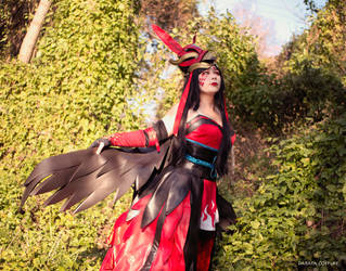 Dark Flame Hououka by Daraya-crafts