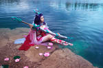 Sacred Sword Janna cosplay by DarayaArt