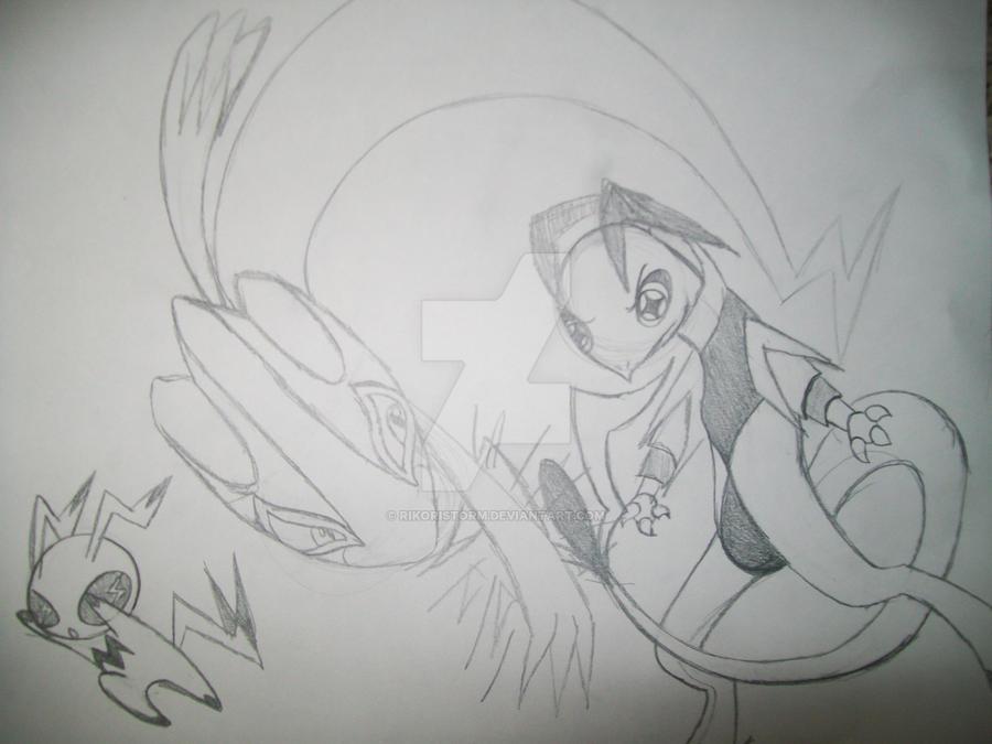 Tomamon battle!! by RikoriStorm