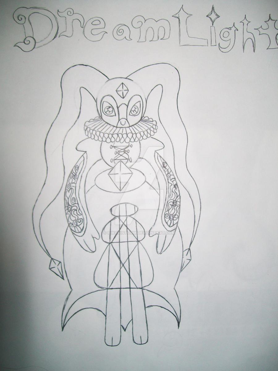 Dream light/ Mentalist light type /Tomamon by RikoriStorm