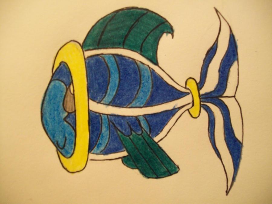 #8 aqua Tomamon by RikoriStorm