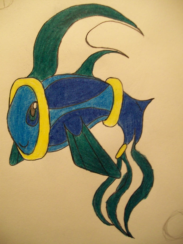 #9 aqua Tomamon by RikoriStorm