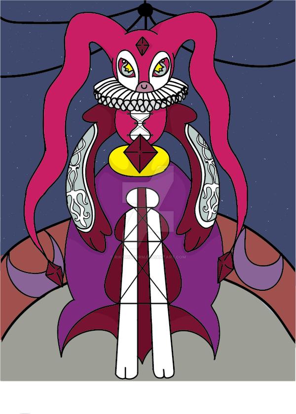 Mentalist/light type Tomamon Wicka by RikoriStorm