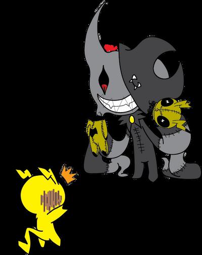 Nether Fright is intimadateding by RikoriStorm