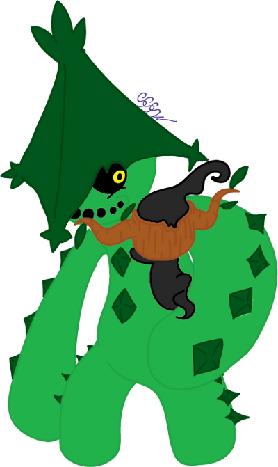 Cacturne And Phantump by RikoriStorm