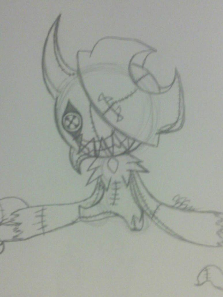 Doll Nether Fright by RikoriStorm