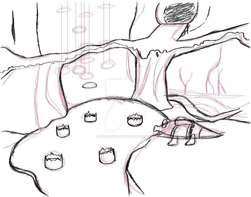 Bubblegloopswamp sketch by RikoriStorm