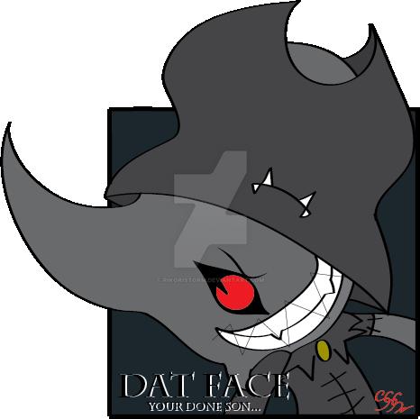 DatFace by RikoriStorm
