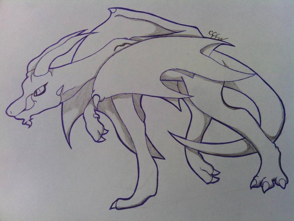 Elder Dragon by RikoriStorm