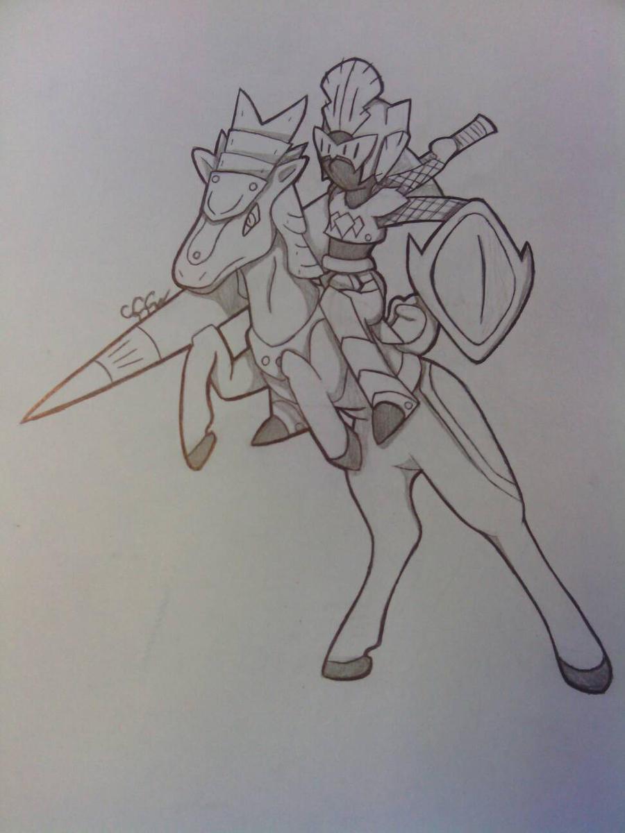 Warrior of light or shadow? by RikoriStorm