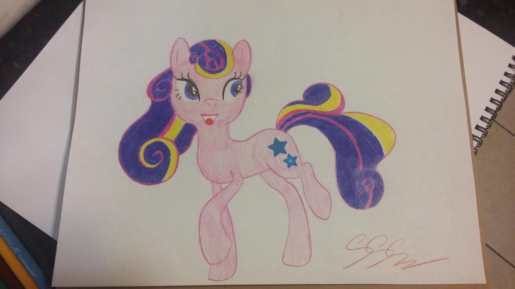 random pony by RikoriStorm