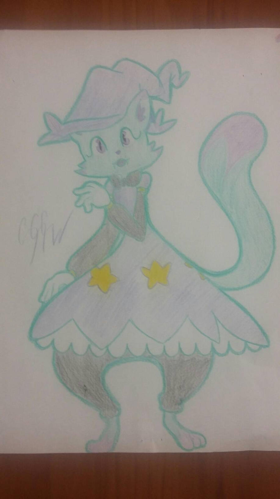 potion cat tomamon coffee challenge day 7! by RikoriStorm