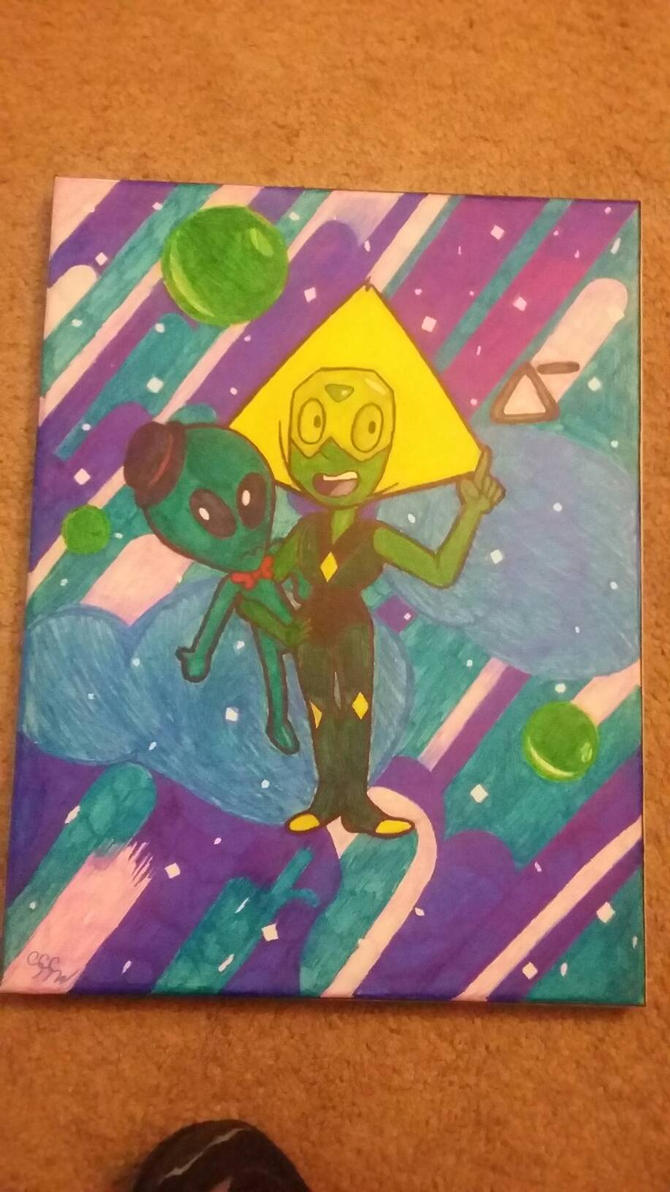 peridot canvas by RikoriStorm