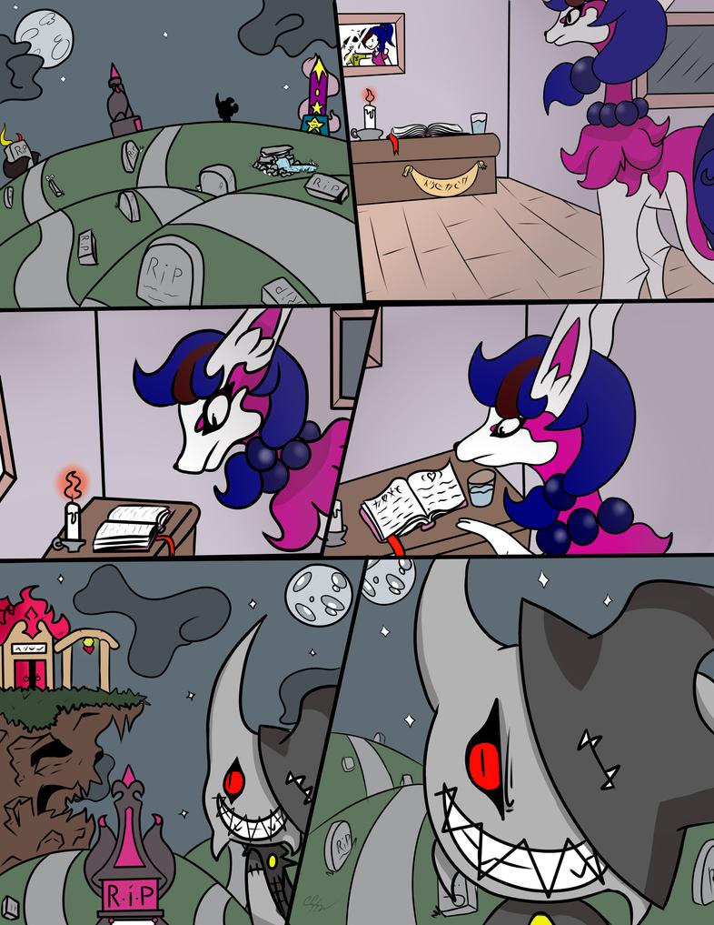 ch 1 moonlight brings pg 2 REDUX! by RikoriStorm
