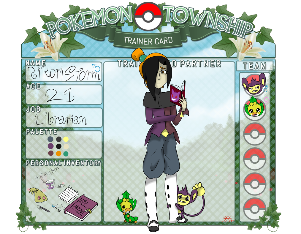 [Pokemon Township] Rikori Storm by RikoriStorm