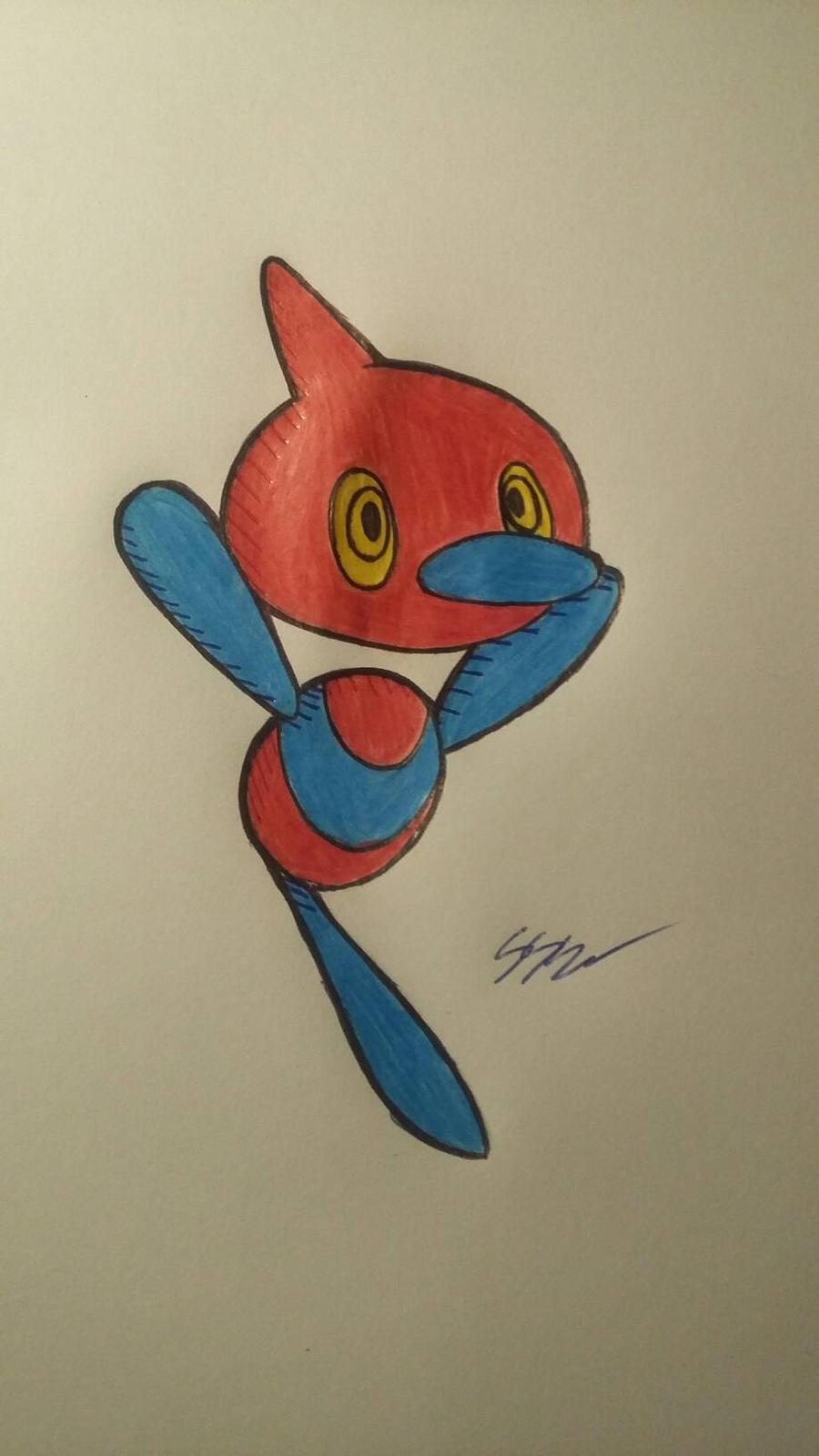 Pokemon Art challenge day 1 by RikoriStorm