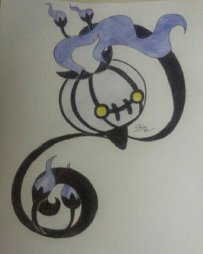 Pokemon art challenge day 3 by RikoriStorm