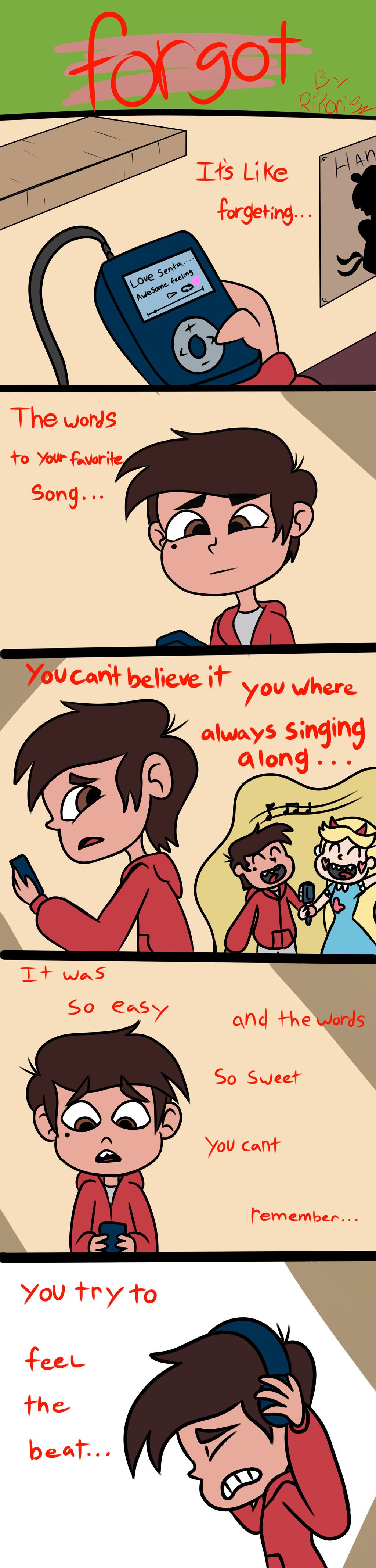 Forgot 1 svtfoe fan comic by RikoriStorm