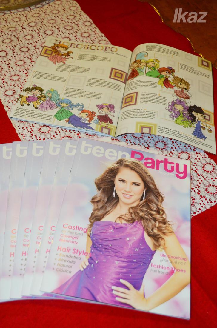 teen party magazine horoscope by me by ~zaki7 on deviantART