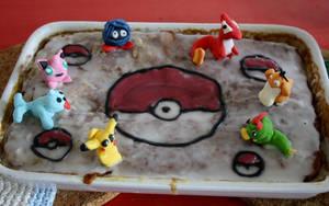 Pokemon Cake by GingeriNosoulius