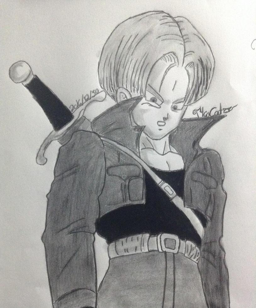 Trunks Sketch [Finalized] by T4coCat