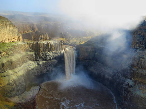 another shot of Palouse Falls
