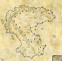 Map of Erytria