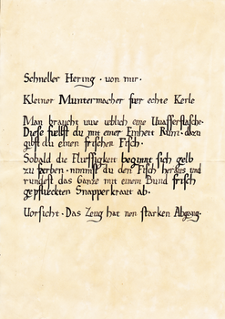 Schneller Hering (Gothic II - NotR)