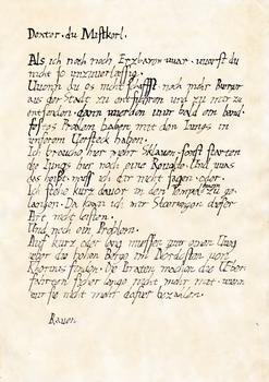Ravens Schreiben an Dexter (Gothic II - NotR)