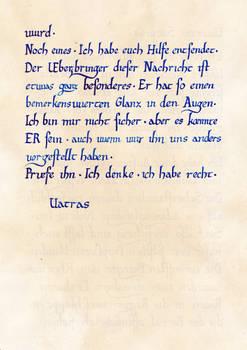 Botschaft Vatras an Saturas II (Gothic II - NotR)